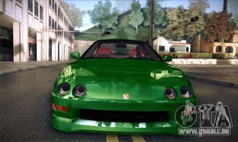 Honda Integra Normal Driving für GTA San Andreas zurück linke Ansicht
