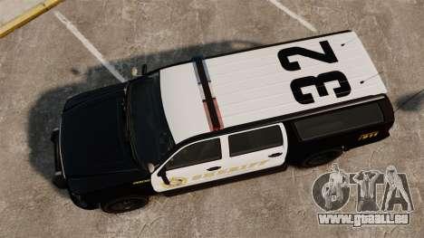GTA V Declasse Granger Sheriff für GTA 4 rechte Ansicht