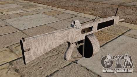 L'AA-12 shotgun hiver pour GTA 4 secondes d'écran