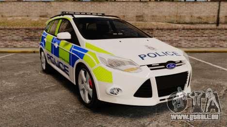 Ford Focus Estate Norfolk Constabulary [ELS] für GTA 4