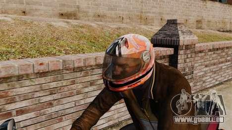 Une collection de casques Arai v1 pour GTA 4 troisième écran
