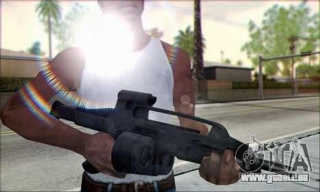 XM8 Para Drum Mag pour GTA San Andreas