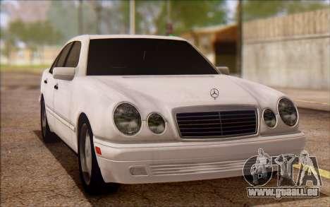 Mercedes-Benz E420 v2.0 für GTA San Andreas linke Ansicht