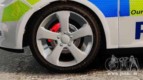 Ford Focus Estate Norfolk Constabulary [ELS] pour GTA 4 Vue arrière