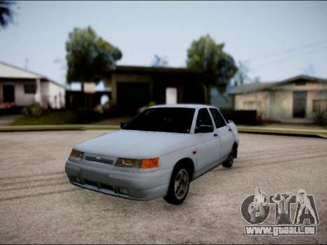 VAZ 2110 restylage pour GTA San Andreas