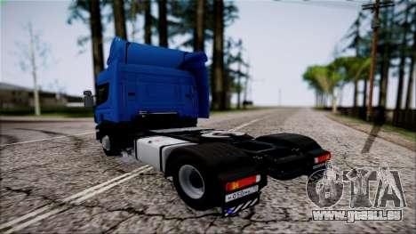 Scania P400 für GTA San Andreas linke Ansicht