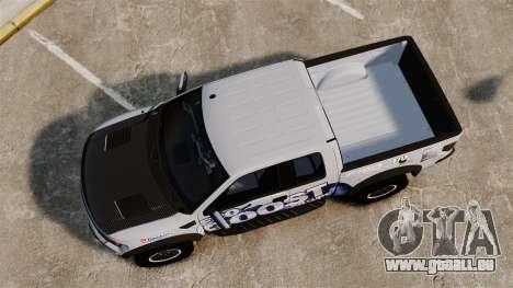 Ford F-150 SVT Raptor 2011 ECOBoost pour GTA 4 est un droit