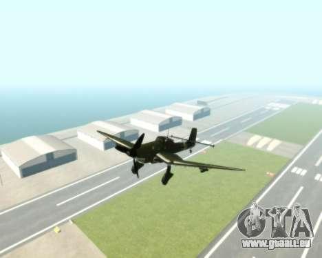 Junkers Ju-87 Stuka pour GTA San Andreas vue de droite