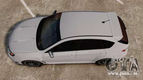 Subaru Impreza Cosworth STI CS400 2010 pour GTA 4 est un droit