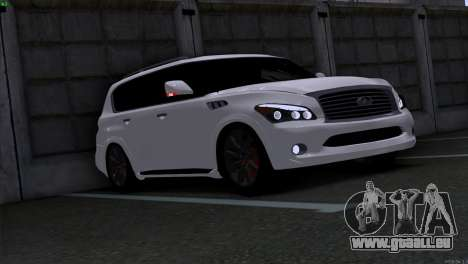 Infiniti QX56 pour GTA San Andreas