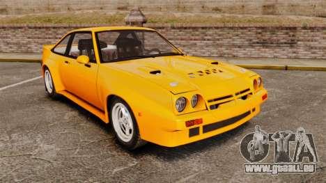 Opel Manta pour GTA 4