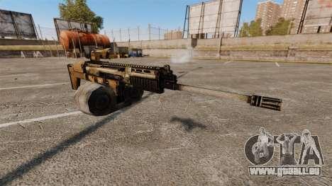Fusil d'assaut SCAR LMG pour GTA 4