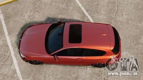 BMW M135i 2013 pour GTA 4 est un droit