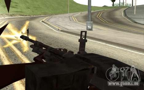 M60E4 pour GTA San Andreas cinquième écran