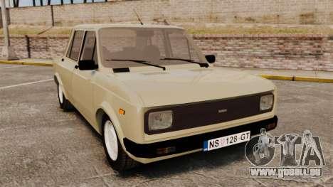 Zastava Yugo 128 für GTA 4