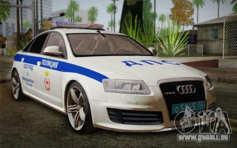Audi RS6 Police pour GTA San Andreas