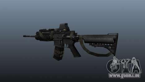 M4 Carbine Sopmod SIRS pour GTA 4 secondes d'écran