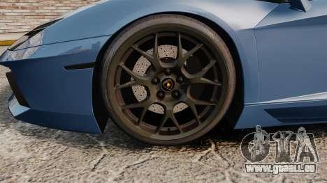 Lamborghini Aventador LP760-4 Oakley Edition v2 pour GTA 4 Vue arrière