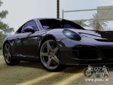 RUF RGT-8 für GTA San Andreas Innenansicht