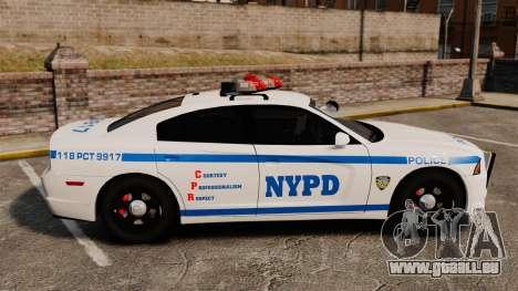 Dodge Charger 2012 NYPD [ELS] pour GTA 4 est une gauche