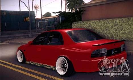 Proton Wira Hype pour GTA San Andreas laissé vue