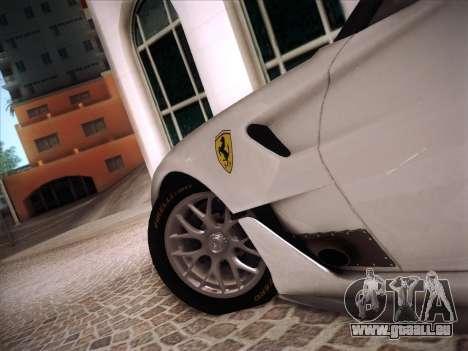 Ferrari 599XX 2012 für GTA San Andreas Innen