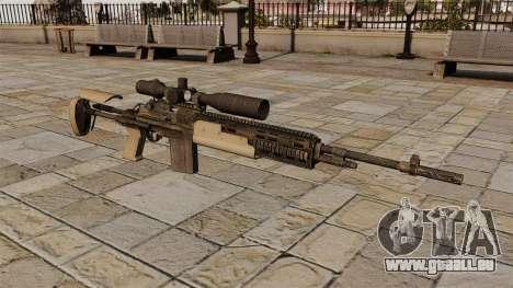 Fusil de sniper M14 pour GTA 4