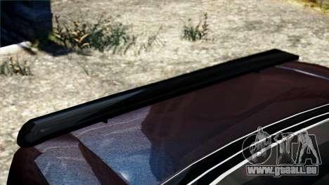 Hunter Kavallerie von Burnout Paradise für GTA 4 rechte Ansicht