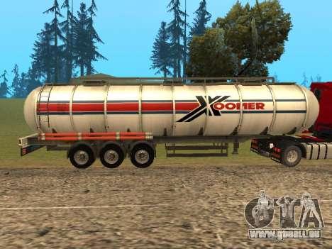 Tank Xoomer für GTA San Andreas linke Ansicht