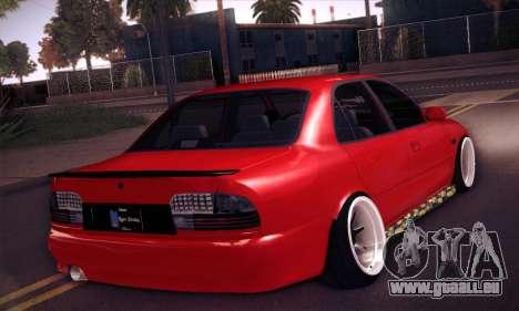 Proton Wira Hype pour GTA San Andreas vue arrière