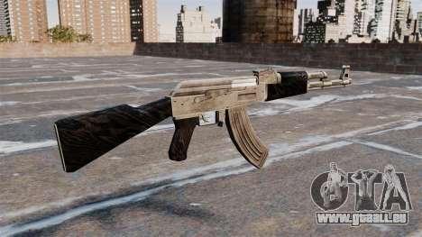 Mise à jour de AK-47 pour GTA 4 secondes d'écran