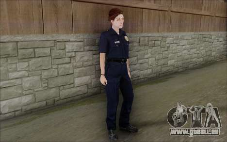 GTA 5 Police Woman für GTA San Andreas