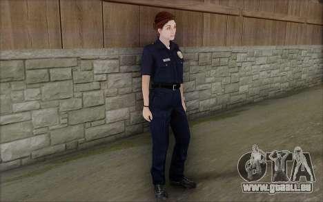 GTA 5 Police Woman pour GTA San Andreas