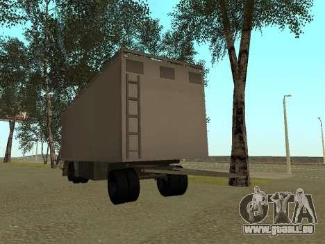 Trailer für Kamaz 54115 für GTA San Andreas