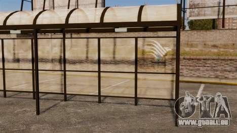 Arrêts de bus Naruto pour GTA 4 sixième écran