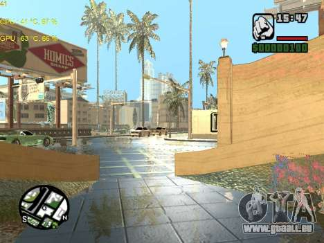 SA Render Public-Beta v0.1 für GTA San Andreas dritten Screenshot
