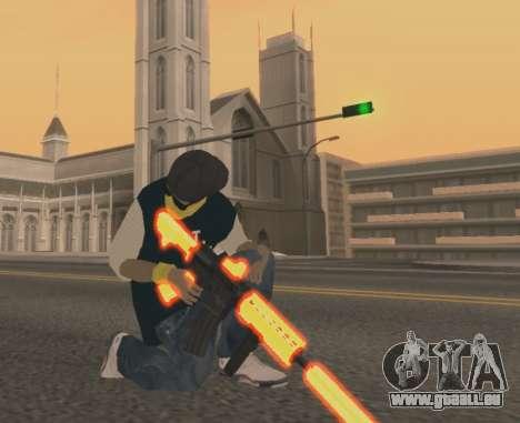 Vagos Gun Pack für GTA San Andreas zweiten Screenshot