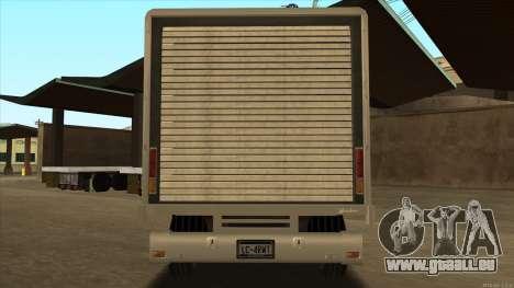 Yankee HD from GTA 3 pour GTA San Andreas vue de droite