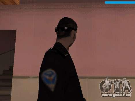 New Police pour GTA San Andreas troisième écran
