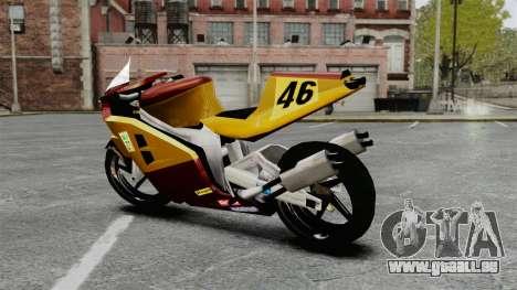 NRG500 für GTA 4 linke Ansicht