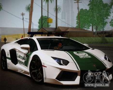 Lamborghini Aventador LP700-4 2012 RCPD V1.0 für GTA San Andreas
