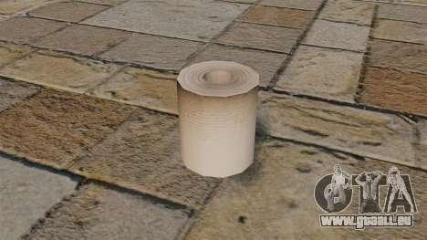 Papier hygiénique pour GTA 4