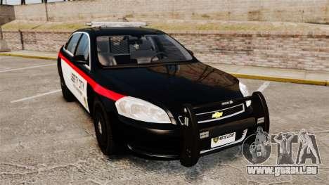 Chevrolet Impala 2008 LCPD STL-K Force [ELS] für GTA 4