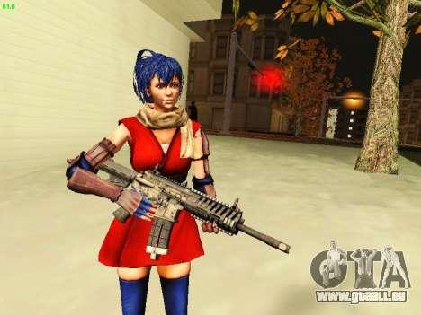 Juliet Starling pour GTA San Andreas troisième écran