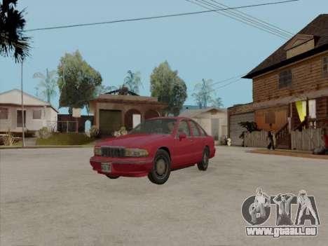 Chevrolet Caprice 1991 für GTA San Andreas