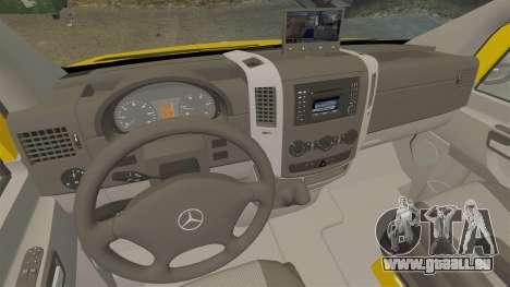 Mercedes-Benz Sprinter 2500 Delivery Van 2011 für GTA 4 Seitenansicht