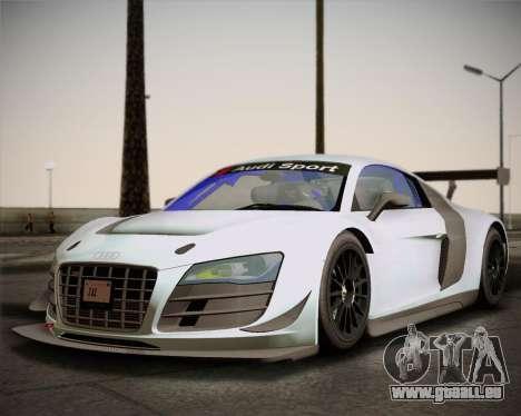 Audi R8 LMS Ultra v1.0.1 DR pour GTA San Andreas laissé vue