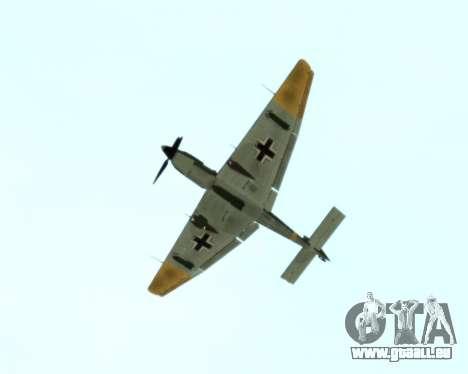 Junkers Ju-87 Stuka pour GTA San Andreas vue arrière