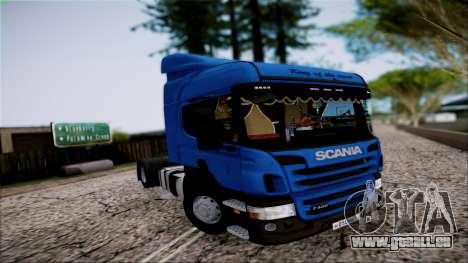 Scania P400 für GTA San Andreas Innenansicht