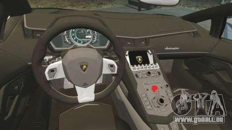 Lamborghini Aventador LP760-4 Oakley Edition v2 für GTA 4 Innenansicht